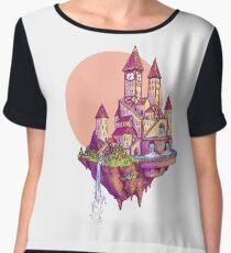 Floating Castle Chiffon Top