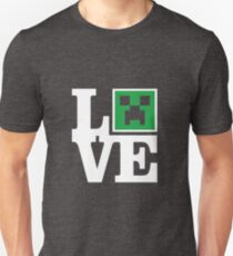 Love Minecraft Unisex T-Shirt