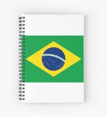 Brazil Flag - Brazilian T-Shirt Spiral Notebook
