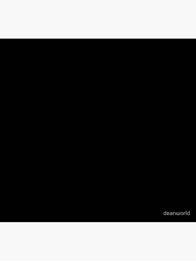 Solid Black Duvet Cover - Noir Bedspread - Plain Skirt, Cushion by deanworld