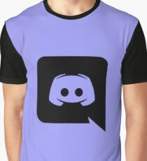 Discord Logo Merchandising Graphic T-Shirt