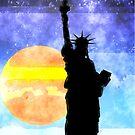 Majestic Lady Liberty by morningdance