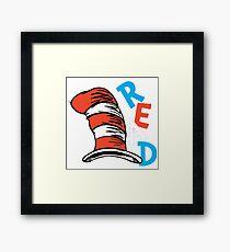 Dr Seuss Day Framed Print