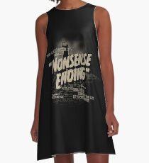 Nonsense Ending A-Line Dress