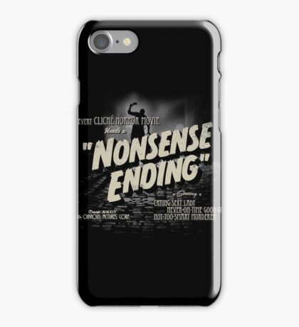 Nonsense Ending iPhone Case/Skin