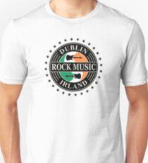 Wonderful Dublin Rock Music Irland Unisex T-Shirt
