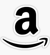 Amazon logo 1 Sticker