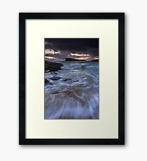 Oldshoremore Tide Framed Print