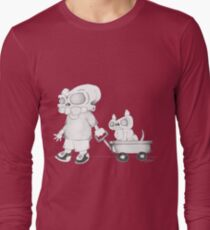 Little (Red) Wagon Long Sleeve T-Shirt