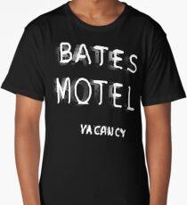 Psycho - Bates Motel Sign Long T-Shirt