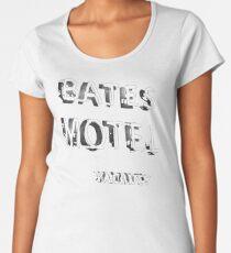 Psycho - Bates Motel Sign Women's Premium T-Shirt