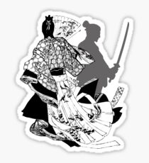 samurai sword Sticker