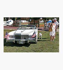 Beautiful American car  11(c)(t) by Olao-Olavia / Okaio Créations with fz 1000  2014 Photographic Print