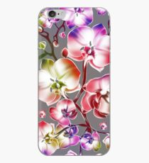 Colorful Orchids iPhone Case