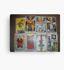 Bad Tarot Canvas Print