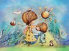 sun and sea by Karin Taylor