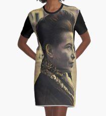 Simone de Beauvoir - stylized Graphic T-Shirt Dress