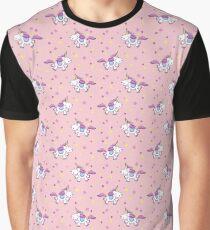 Cute Unicorns III Graphic T-Shirt