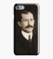 Orville Wright, Inventor by Mary Bassett iPhone Case/Skin