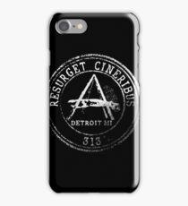 Detroit Passport Stamp iPhone Case/Skin