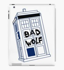 Doctor Who Bad Wolf iPad Case/Skin