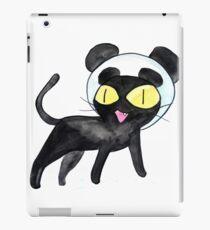 Panda Hat Cat iPad Case/Skin