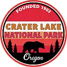 CRATER LAKE NATIONAL PARK OREGON BEAR MOUNTAINS by MyHandmadeSigns
