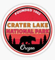 CRATER LAKE NATIONAL PARK OREGON BEAR MOUNTAINS Sticker