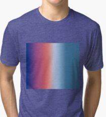 Ombre Clouds 1 Reversed  Tri-blend T-Shirt