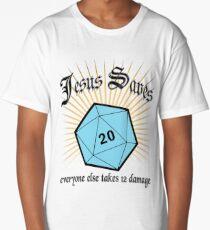 Jesus Saves Long T-Shirt