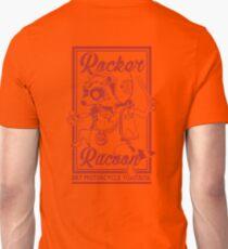 Rocker racoon -RED- Unisex T-Shirt