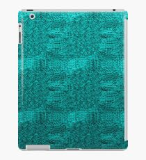 Blue Cloth iPad Case/Skin