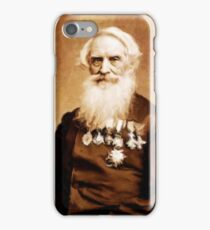 Samuel Morse, Inventor and Painter by Mary Bassett iPhone Case/Skin