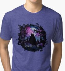 Under the moon 2nd version Tri-blend T-Shirt
