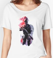 Rainbow Six Siege Watercolor Smoke Women's Relaxed Fit T-Shirt
