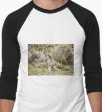 Eastern grey kangaroo Men's Baseball ¾ T-Shirt