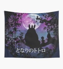 Under the moon 2nd version Wall Tapestry