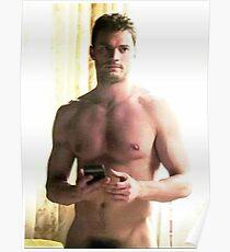jamie dornan shirtless OII Poster