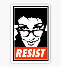 Rachel Resist Sticker