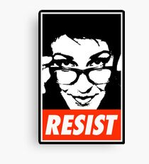 Rachel Resist Canvas Print