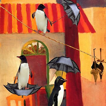 Penguin Cafe by tillymagoo