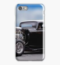 1932 Ford 'Supercharged' Coupe I iPhone Case/Skin
