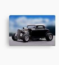 1932 Ford 'Supercharged' Coupe I Canvas Print