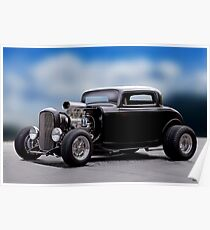 1932 Ford 'Supercharged' Coupe I Poster