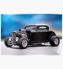 1932 Ford 'Supercharged' Coupe II Poster