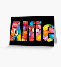 Alfie -- personalized gifts Greeting Card