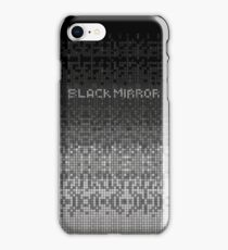 Black Mirror - Anonymous shape iPhone Case/Skin