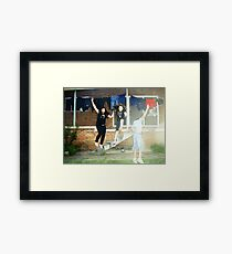 Dare To Be Cool! Framed Print