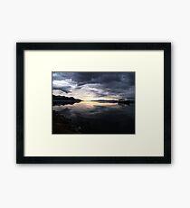 Ushuaia Harbour at Dawn Framed Print