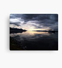 Ushuaia Harbour at Dawn Canvas Print